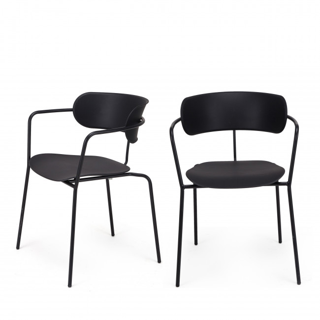 Lot de 2 chaises design Manawa