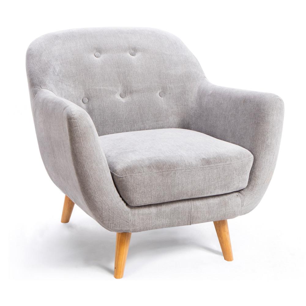 fauteuil scandinave en tissu kaden drawer. Black Bedroom Furniture Sets. Home Design Ideas