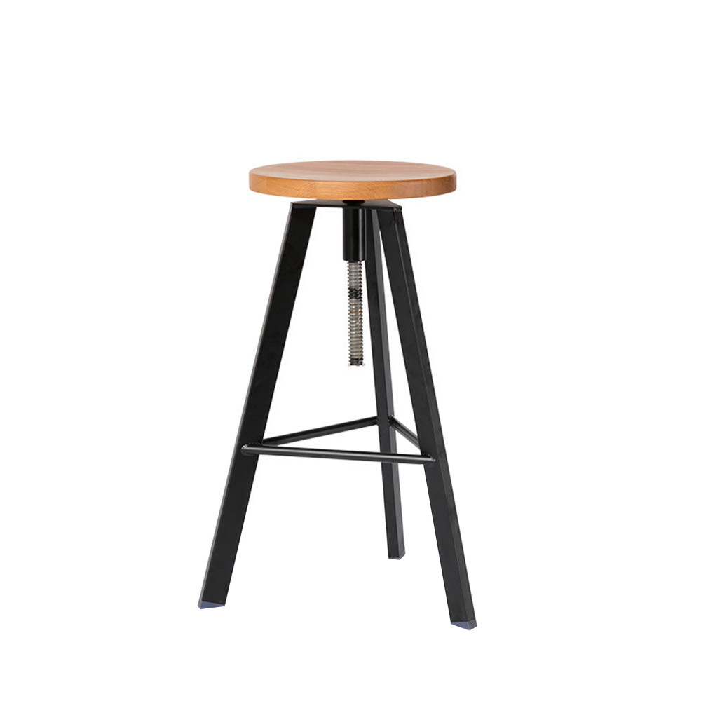 tabouret de bar vis alphonse drawer. Black Bedroom Furniture Sets. Home Design Ideas