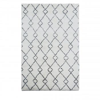 Tapis style berbère en laine Cubeb