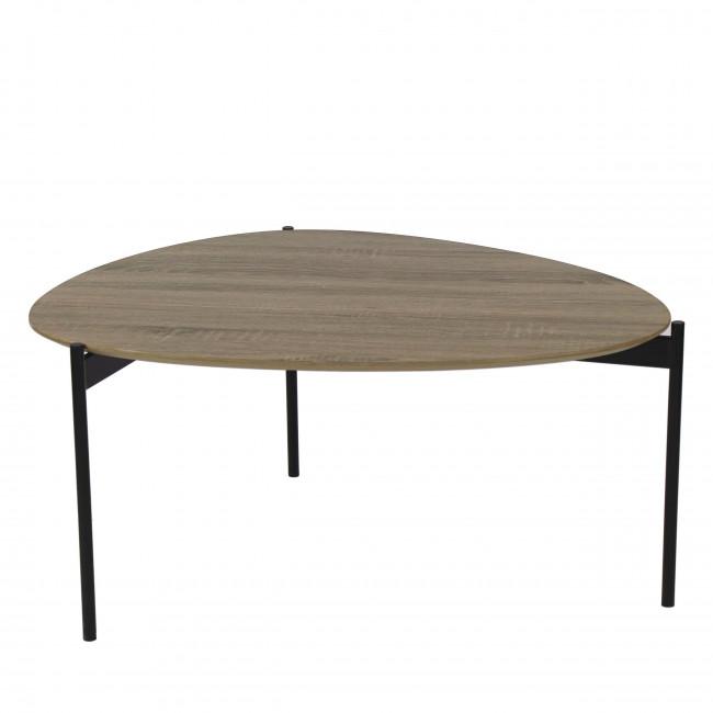 Table basse en bois et métal L Guillaume Pomax