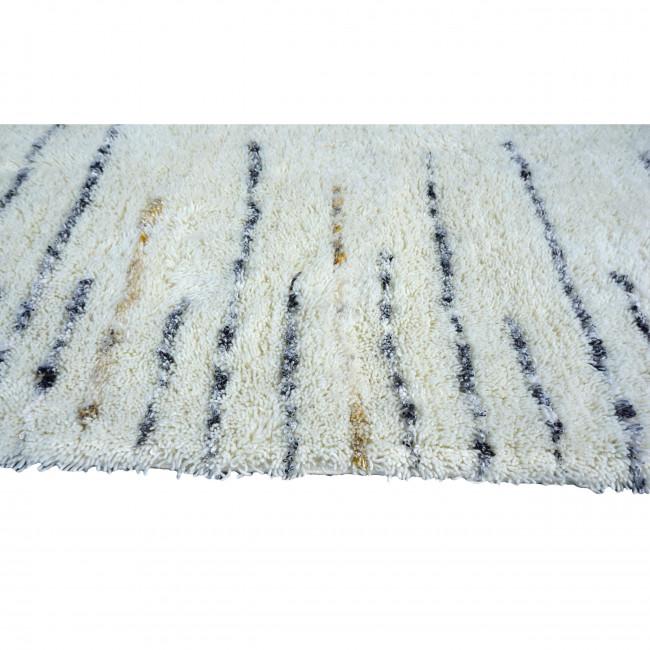 Tapis shaggy en laine Kalpasi