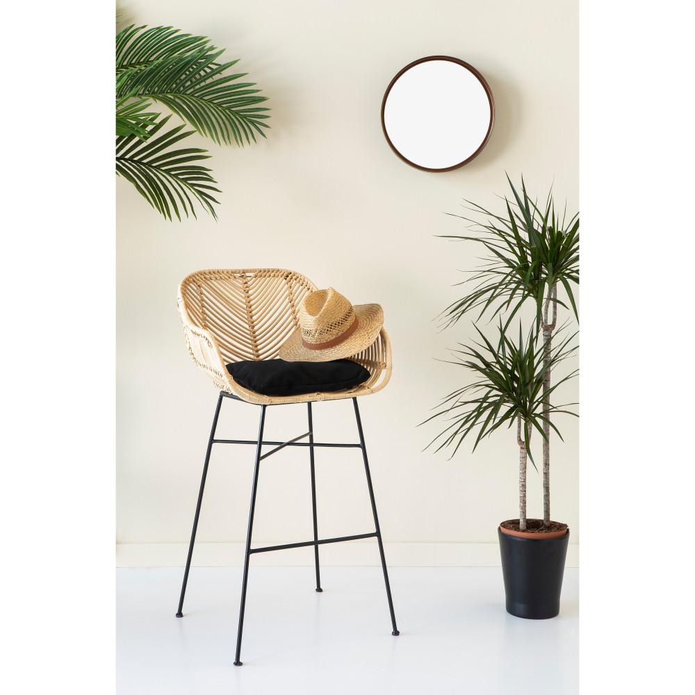 tabouret de bar en rotin 68 cm nunuhai drawer. Black Bedroom Furniture Sets. Home Design Ideas
