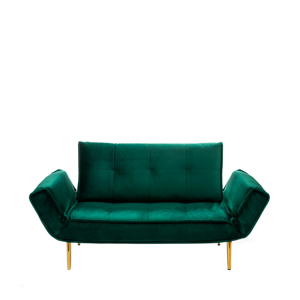 canap 2 places modulable et convertible en velours marquis drawer. Black Bedroom Furniture Sets. Home Design Ideas