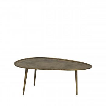 Table basse en métal L Austral Pomax