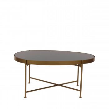Table d'appoint en métal L Lott Pomax