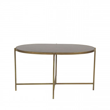 Table d'appoint en métal L Wildwood Pomax