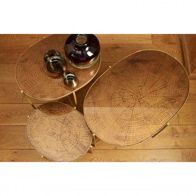 Table d'appoint en métal L Wildwood Pomax