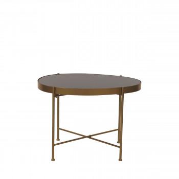 Table d'appoint en métal M Lott Pomax