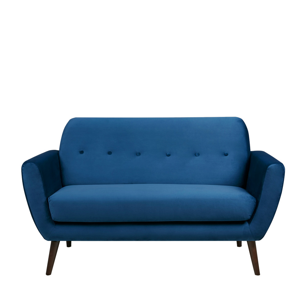 banquette 2 places en velours epicure drawer. Black Bedroom Furniture Sets. Home Design Ideas