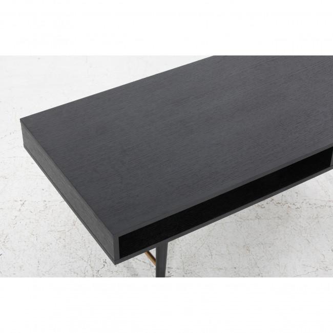 Table basse design bois 117x60cm Makassar