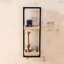 Étagère 2 niches en bois et métal Spencer Redcartel