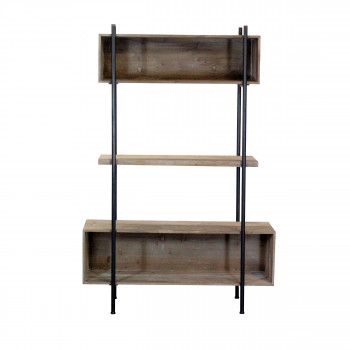 Etagère en bois et métal Shelter Redcartel
