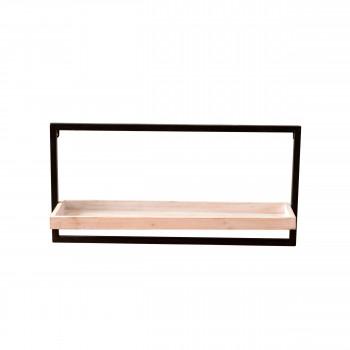 Étagère rectangle en bois et métal Spencer Redcartel
