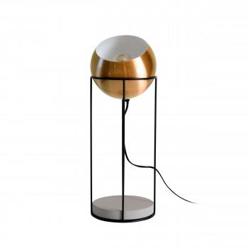 Lampe à poser en béton et métal Wilson Redcartel