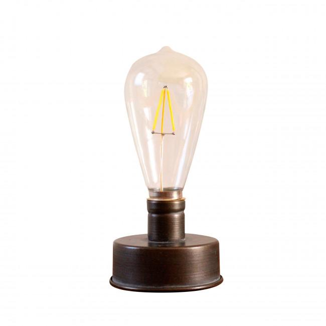 Lampe à poser en métal 18 cm Ray Redcartel