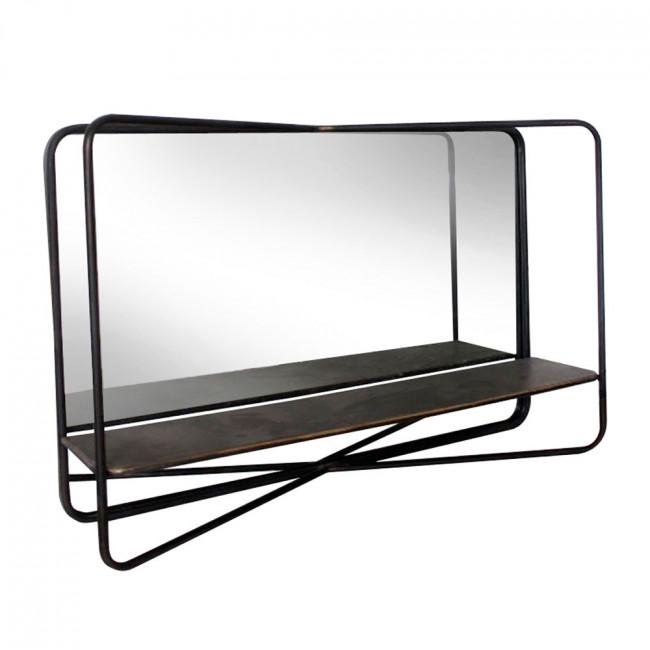 Miroir en métal horizontal Felix Redcartel