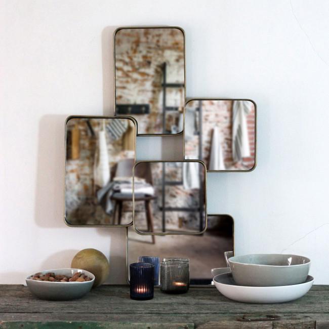 Miroir en métal Urban Redcartel
