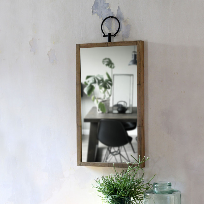 Miroir rectangle en bois Glory Redcartel