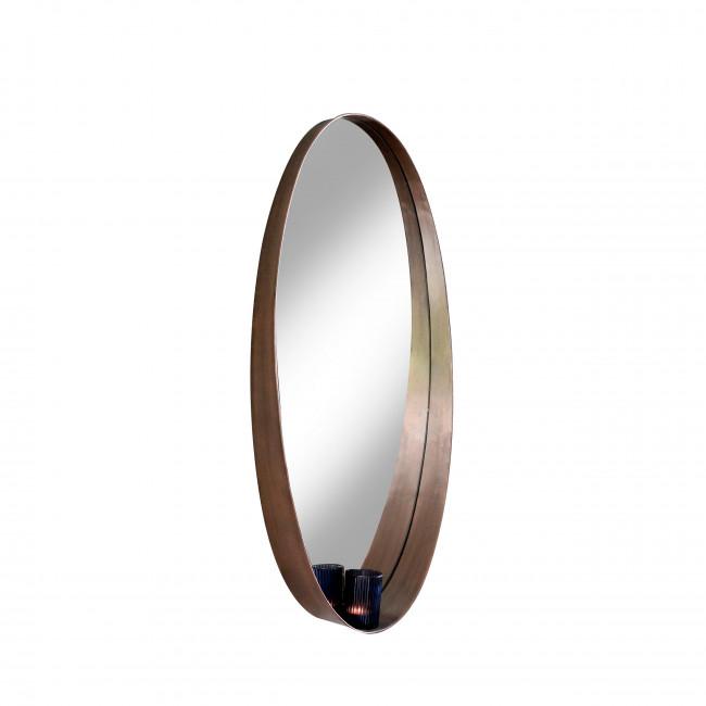 Miroir en métal Kate Redcartel