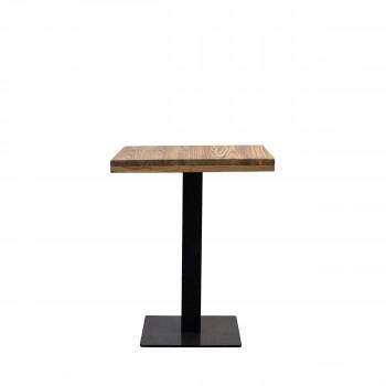 Table à manger en acier et bois Warner Redcartel