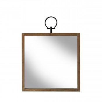 Miroir carré en bois Glory Redcartel