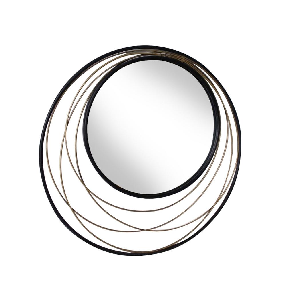 miroir rond en m tal 60 cm conrad redcartel drawer. Black Bedroom Furniture Sets. Home Design Ideas