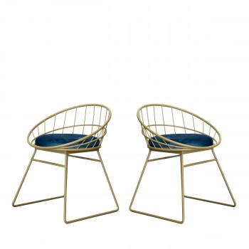 Lot de 2 chaises Carmen Redcartel