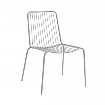 Chaise de jardin en acier Helberskov