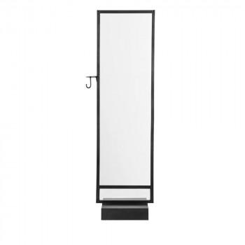 Miroir sur pied design en métal Hallway