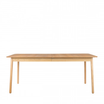 Table à manger extensible en bois 180-240x90 cm Glimps