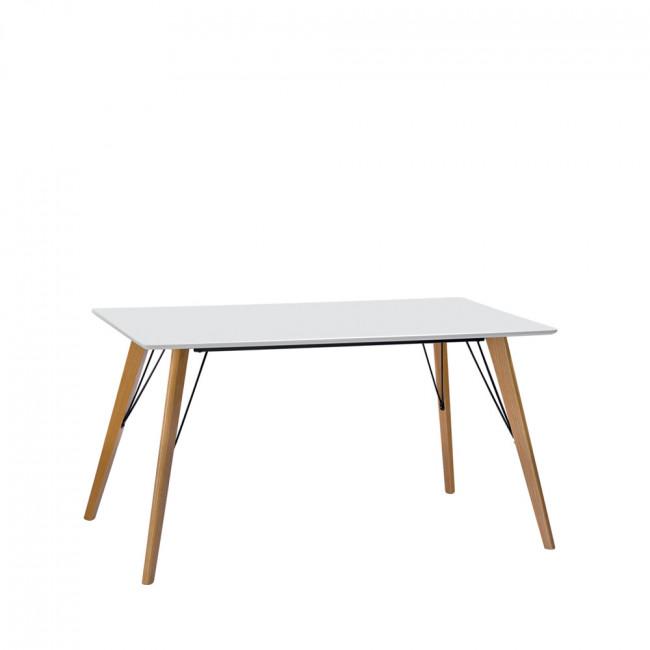 Table à manger scandinave 120x80cm Ryden
