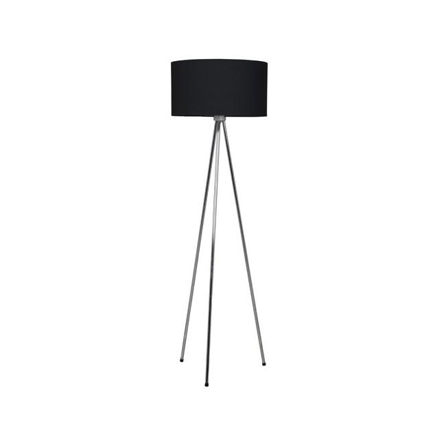 Lampadaire design Twister noir
