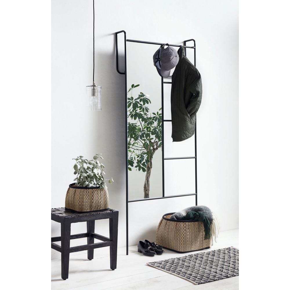 Miroir sur pied avec portant Hjardemal - Drawer