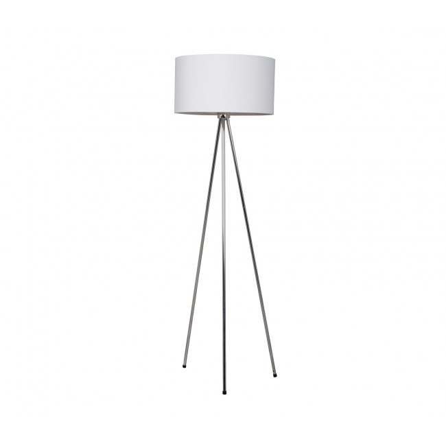 Lampadaire design Twister blanc