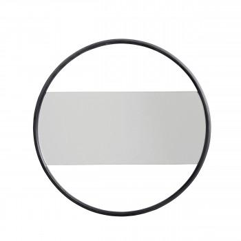 Miroir design en métal Kildebronde
