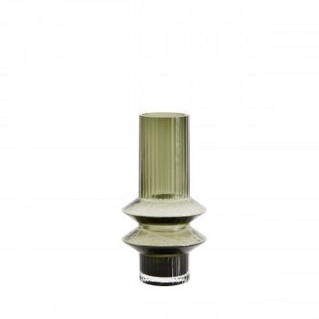 Vase design en verre S Rilla