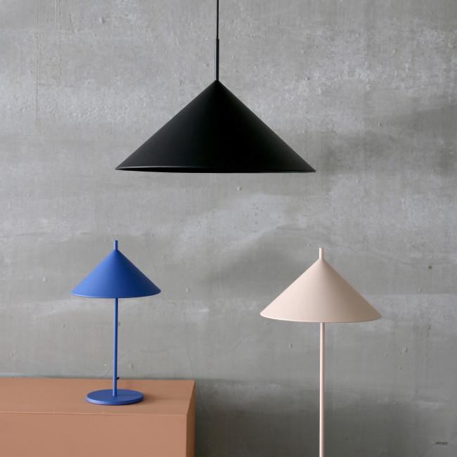 Lampadaire design en métal Winsum
