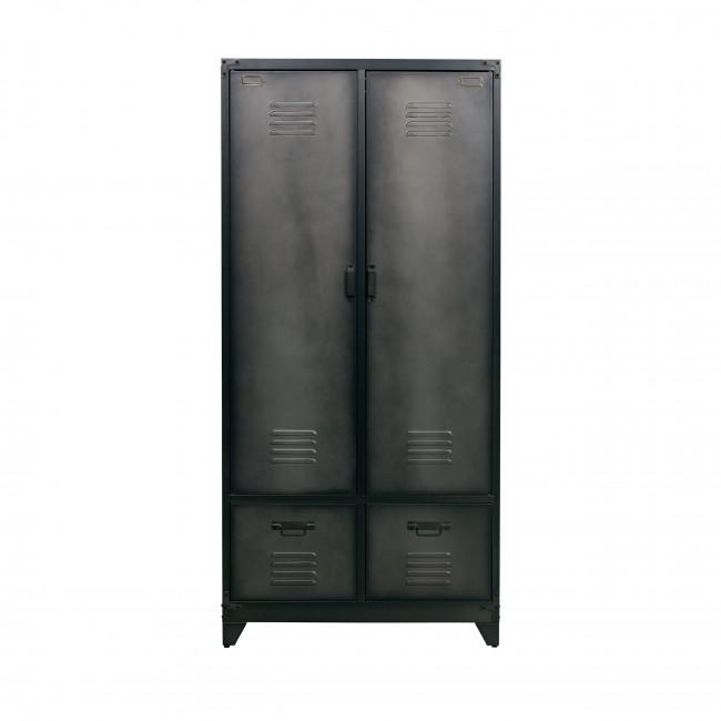 Armoire en métal noir Locker
