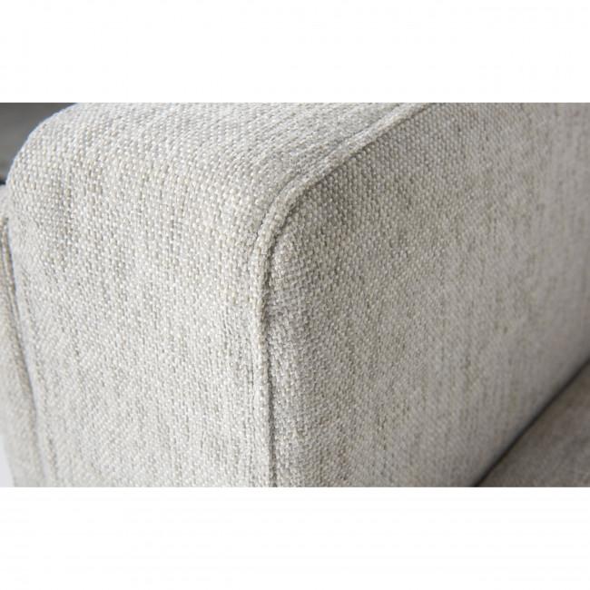 Canapé 3 places en tissu Maeve