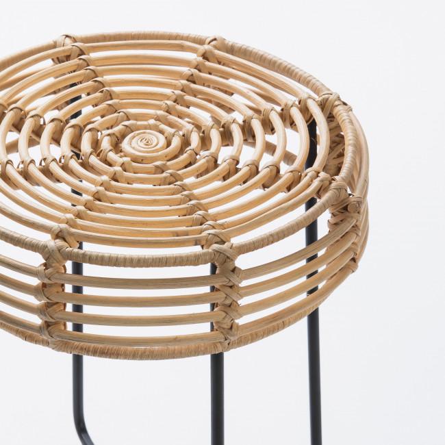 Tabouret design en rotin Badung