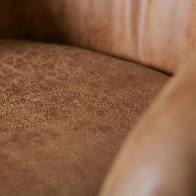 Lot de 2 chaises en similicuir Viggo