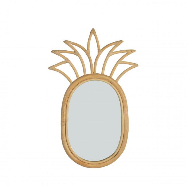 Miroir en rotin Kalavati