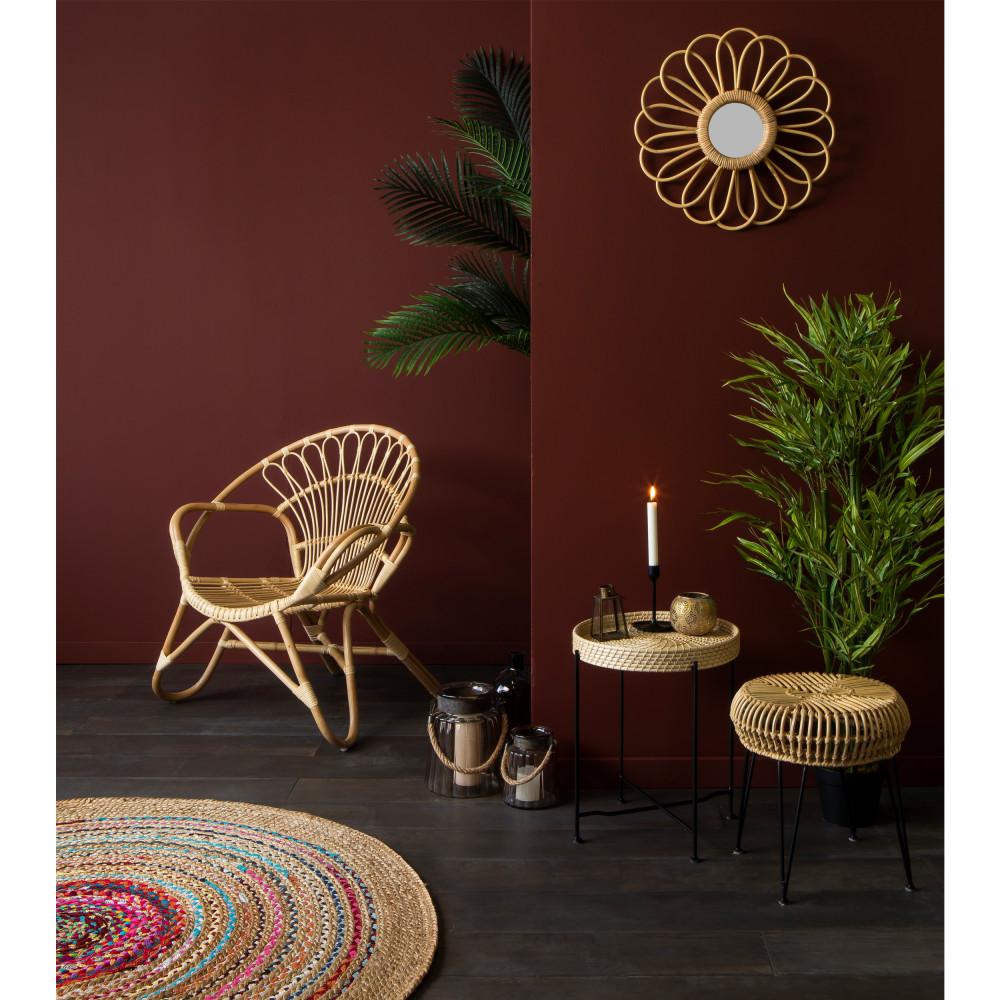 tapis rond 150 en jute nidhi drawer. Black Bedroom Furniture Sets. Home Design Ideas