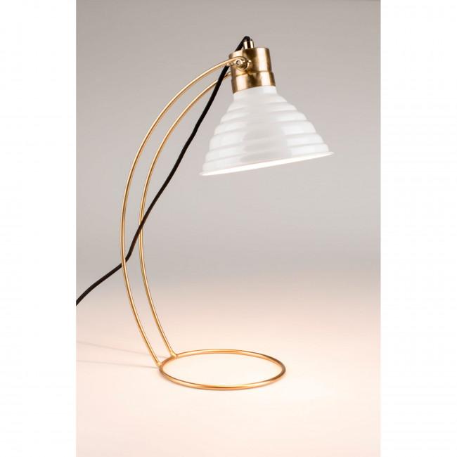Lampe à poser design en métal Curly