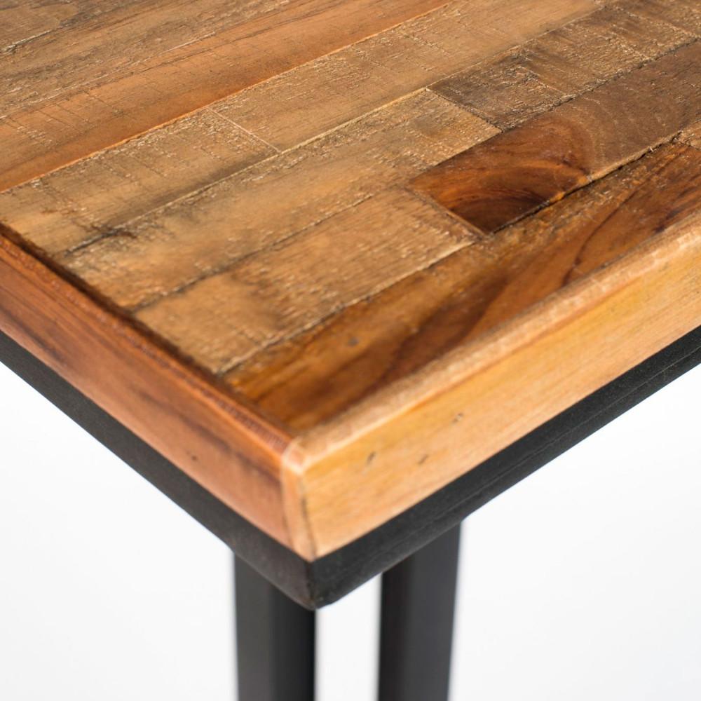 table de bistrot carr e maze drawer. Black Bedroom Furniture Sets. Home Design Ideas
