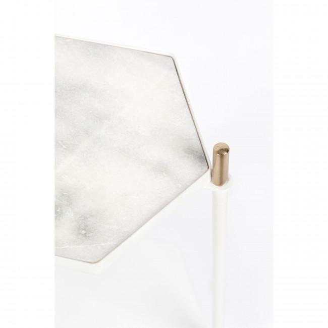 Table d'appoint en marbre Honeycomb