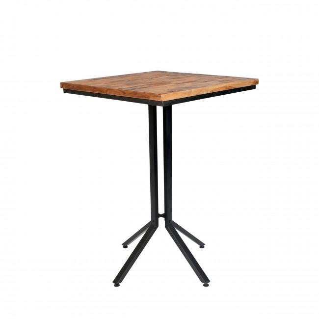 Table de bar carrée Maze