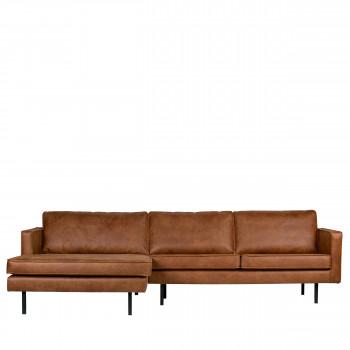 Canapé d'angle gauche vintage Bronco