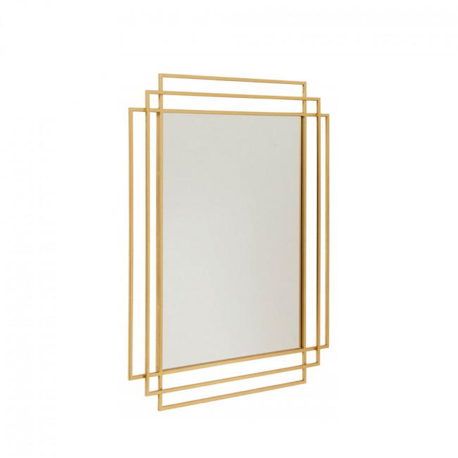 Miroir Art Deco en métal Square